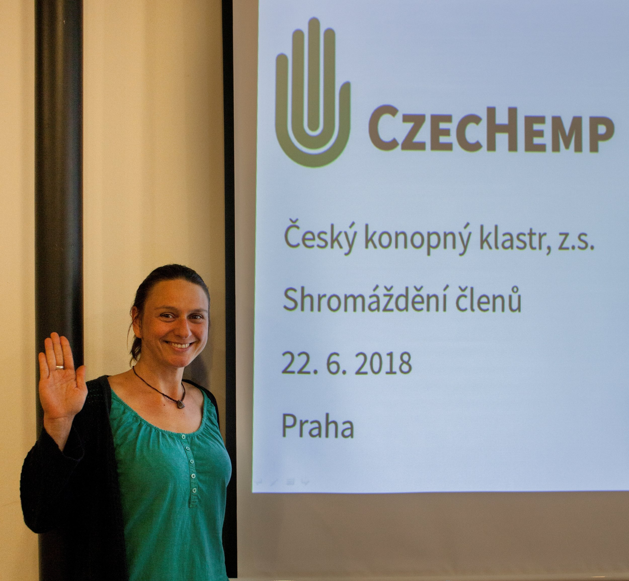 18/10/04 - During the summer 2018 the Czech hemp cluster elected its representatives - 3 members of the Supervisory Board and 5 members of the executive board with hana gabrielova as the cluster president. The executive board started work on key projects for the sector development.