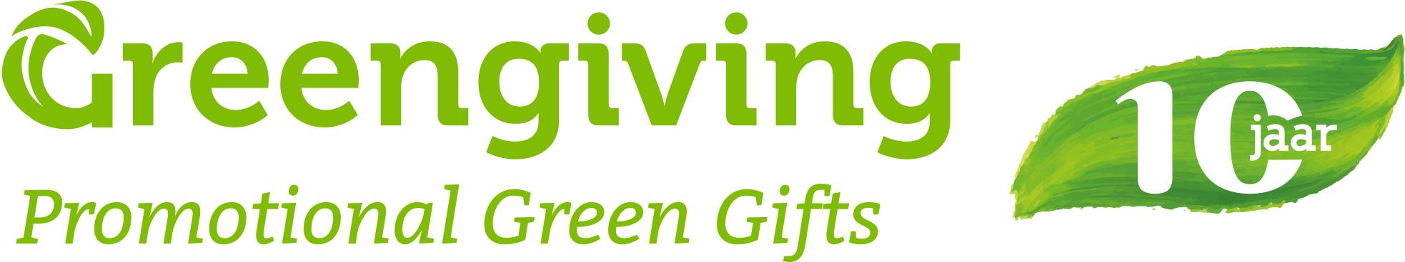 Greengiving logo incl. pay off en 10 jaar embleem ENG.jpg