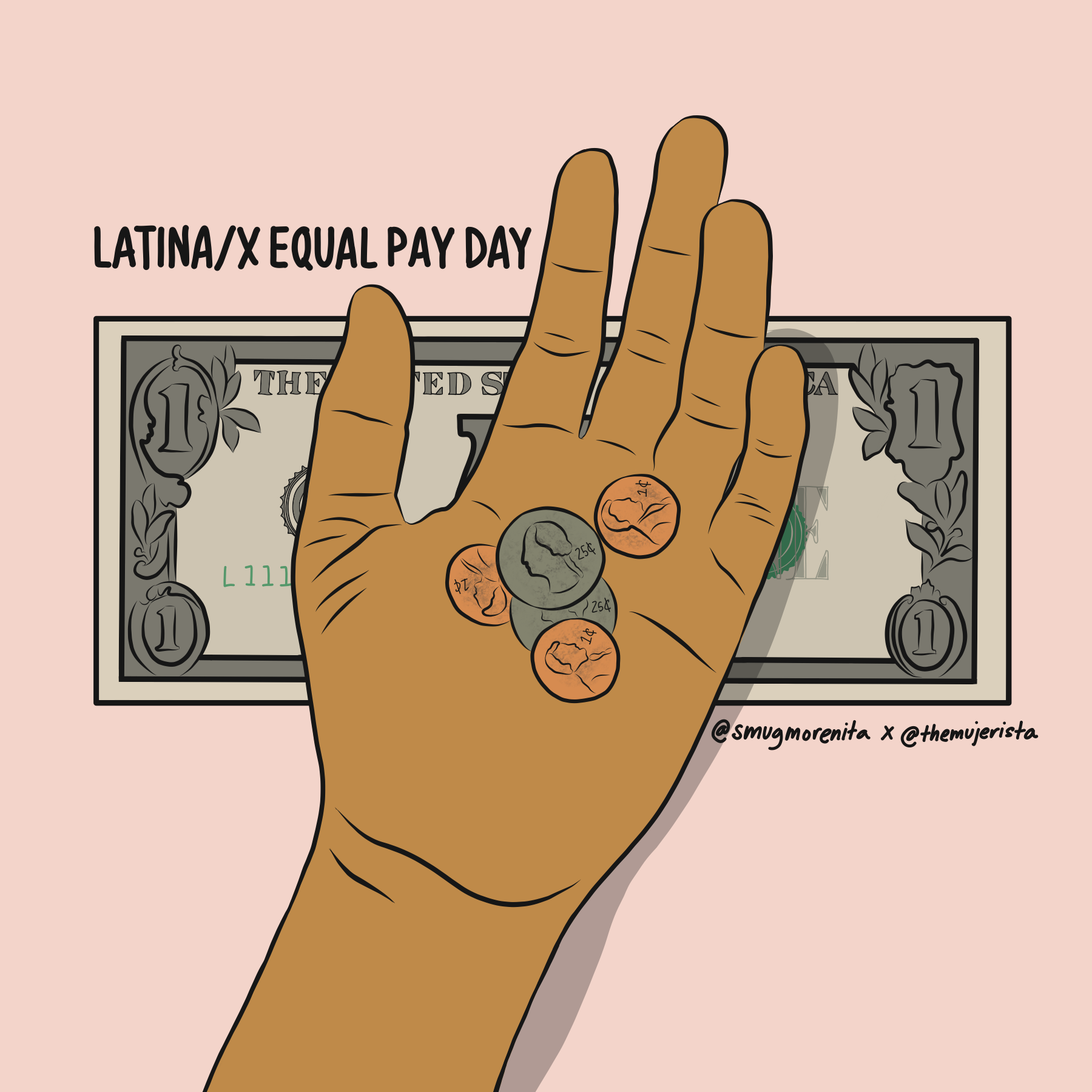 LATINA/X EQUAL PAY DAY