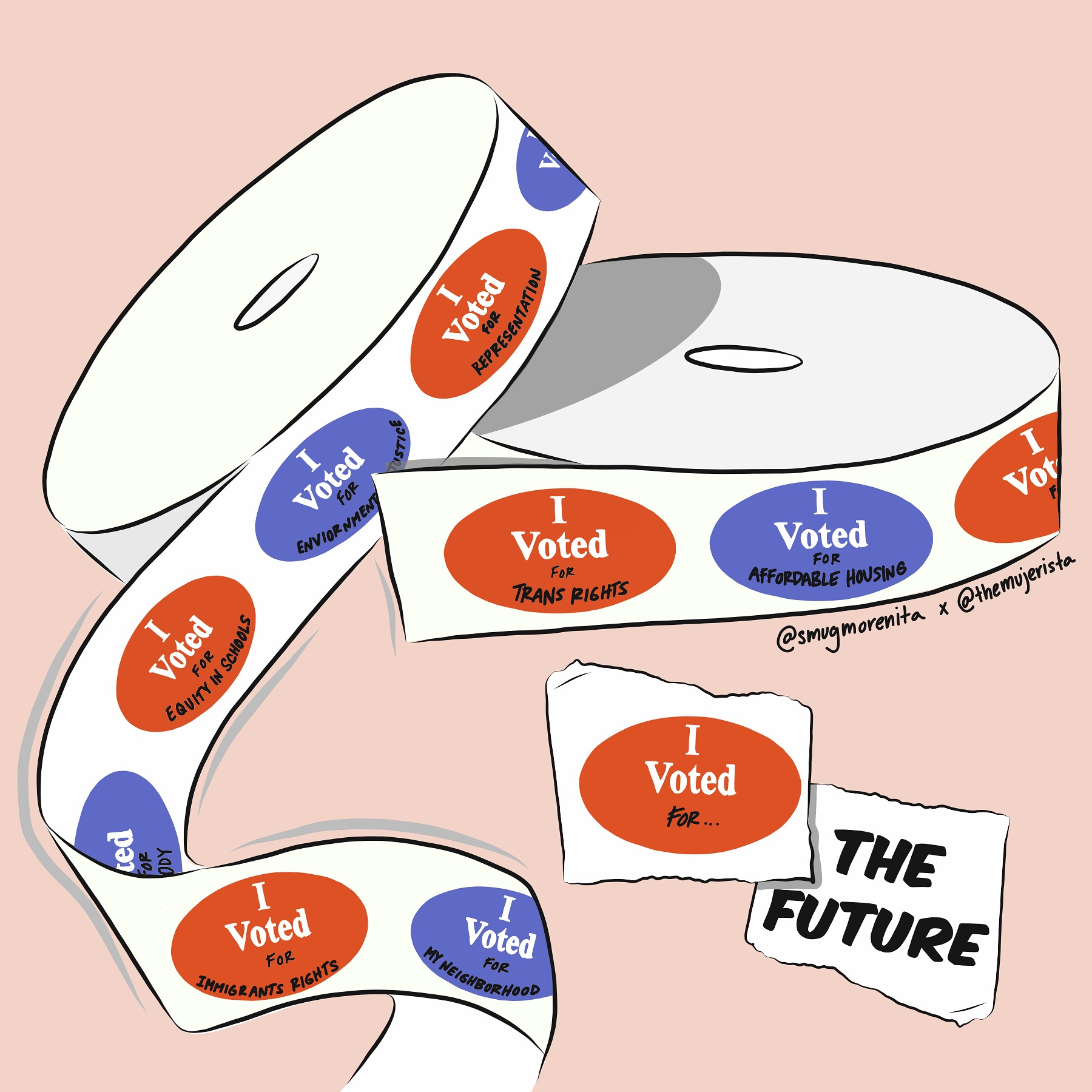 I VOTED FOR THE FUTURE