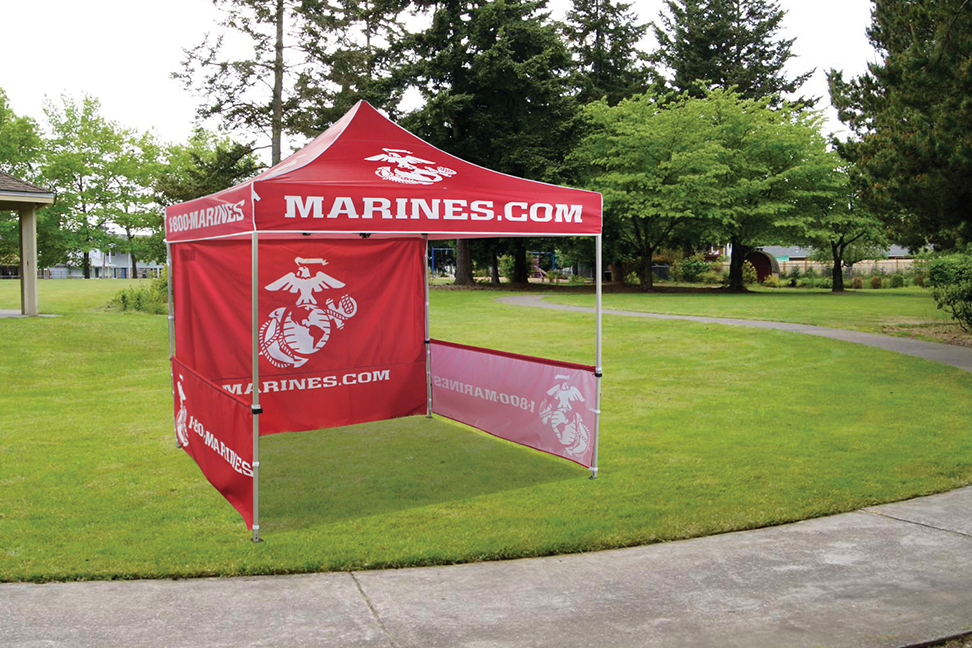 10 x 10 Fast Shade Pop Up Tent Package