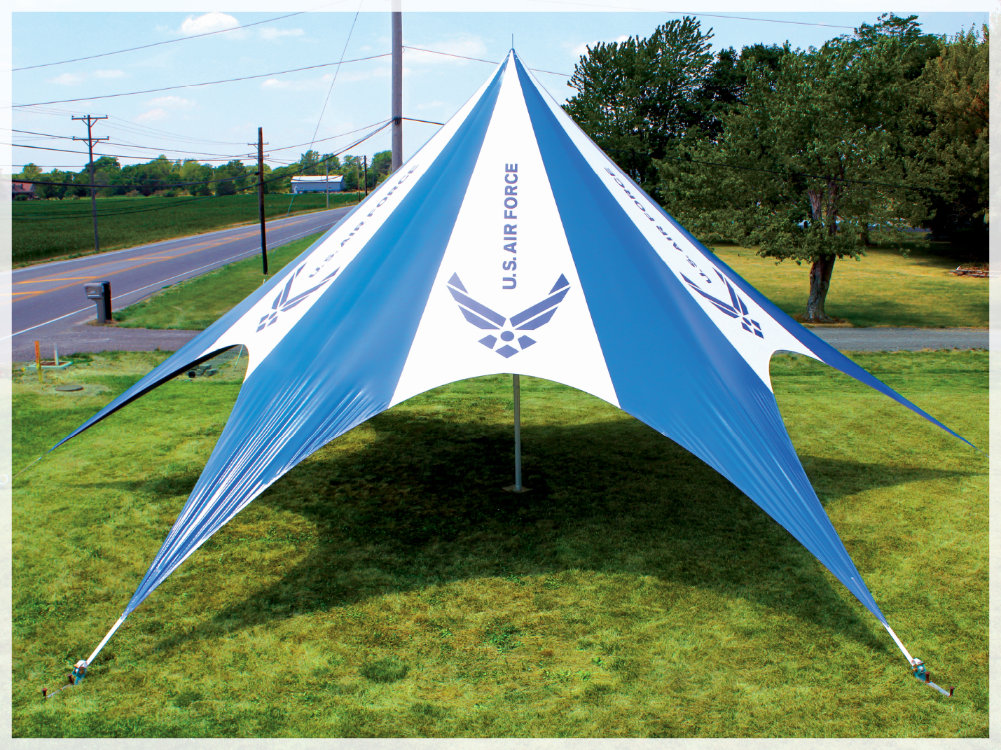 TP SERIES POLE TENTS