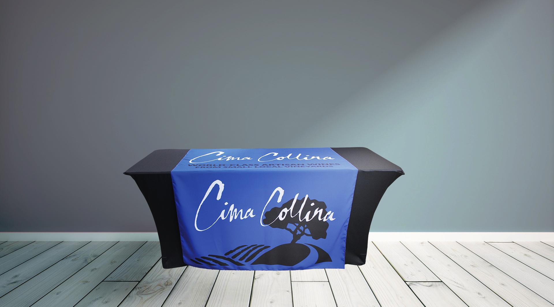 Cima Collina Table Runner Grey Wall.jpg
