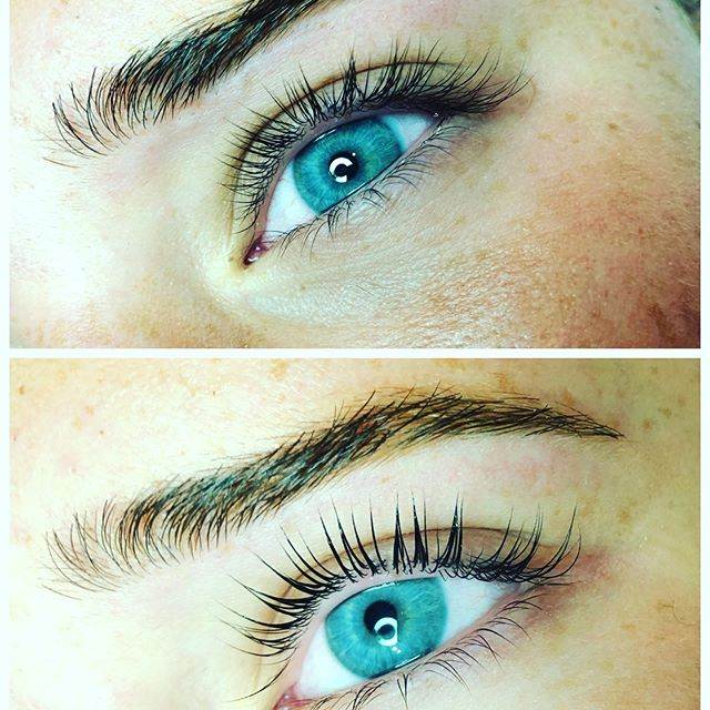 Wax and winks Wednesday!  Can't let the clock strike midnight before we post this beauties' eyes and brows... as the summer draws to a close, and school is about to begin, come see us at Talem Beauty Studio, for all your back to school needs. Are you #RushReady ?  #LashLift #Elleebana #brows #wax #tint #TalemBeautyStudio #BossBabe #smallbusiness #ShopLocal #EstyLife #supportsmall #thoseEyes #BackToSchool #RushReady #treatyourself #spaday