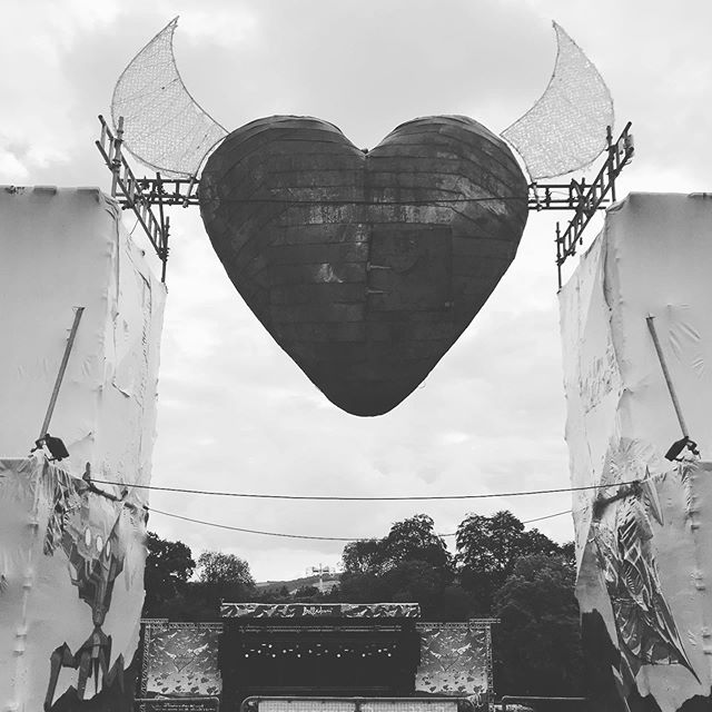 Anyone recognise this? 😍  #wildhighlanddrinksco  #weedramvan  #belladrum  #heart #nc500route  #love  #festival