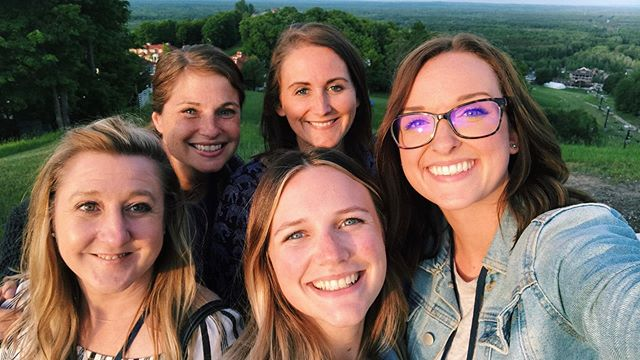Our team has been up north at Crystal Mountain the past few days for the 2019 Michigan Association of United Ways Annual Meeting. We've been busy learning about industry trends/new ideas and networking with other United Way staff members! #MIUnited2019