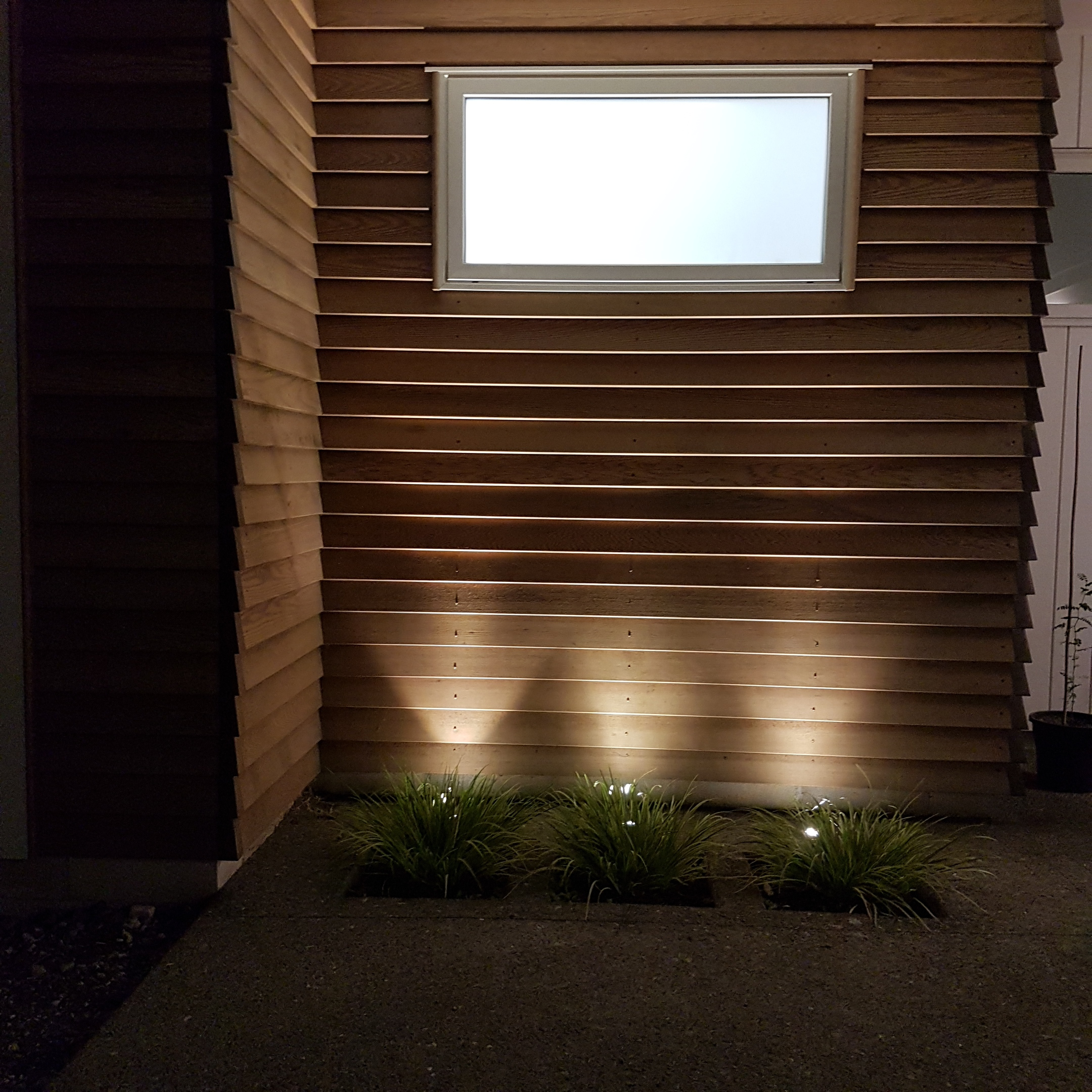 Garden up-lighting