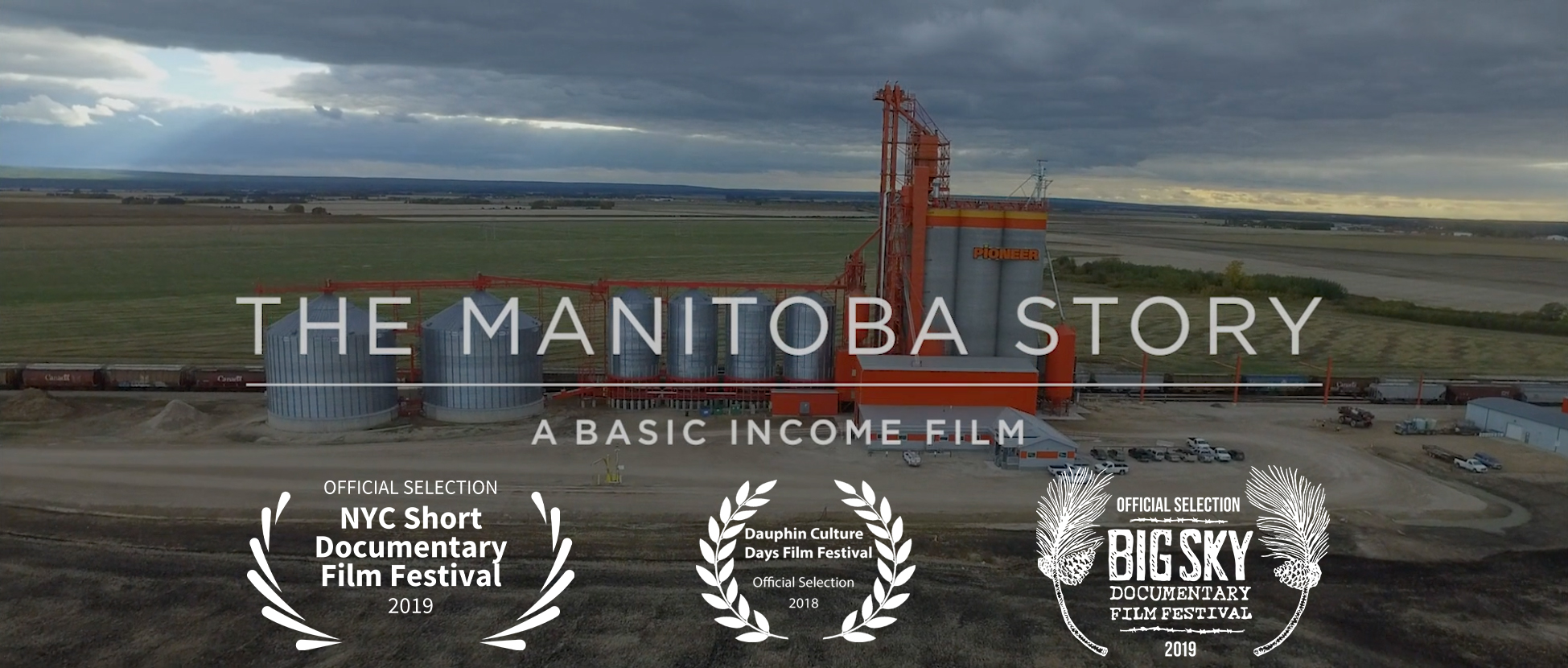 Still from The Manitoba Story film showing title sequence