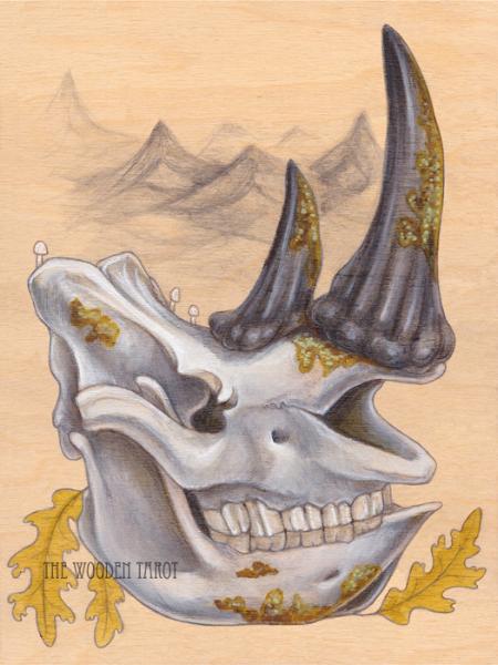 knight of bones, 2014.