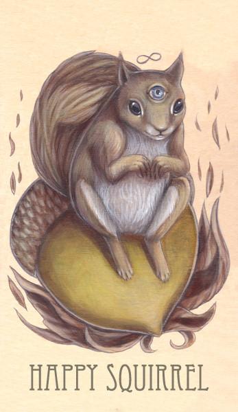 ∞ happy squirrel, 2014.