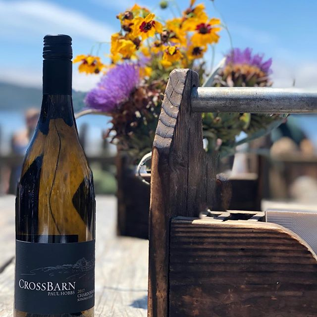 Cheers to Friday! We hope you get a chance to enjoy the great outdoors this weekend with a glass of CrossBarn.
