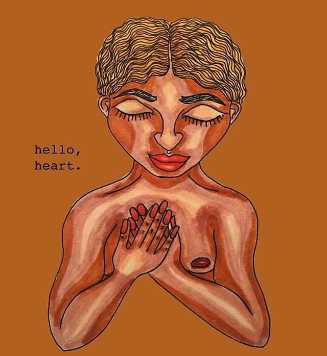 Mid-week heart check-in — how's yours? Tender, or full, whatever state of heart you're in, there's a place for you at Heartheal. this Saturday, I'm offering my special ritual for the heart @shaktibarre Harlem. Come soothe your fourth chakra with reiki and gentle movement. 🎨: @mosaiceye .  #heal #healing #magic #magicalthinking #reiki #power #reikihealer #reikihealing #blossom #bloom #selfheal #handsthatheal #yogilife #yogini #ibendsoidontbreak #listentoyourheart #healingisaprocess #community #communityhealing #listentoyourbody #selflove #breathwork #breathe #exhaletoinhale #harlem #mindbodysoul #mindbodyhealing