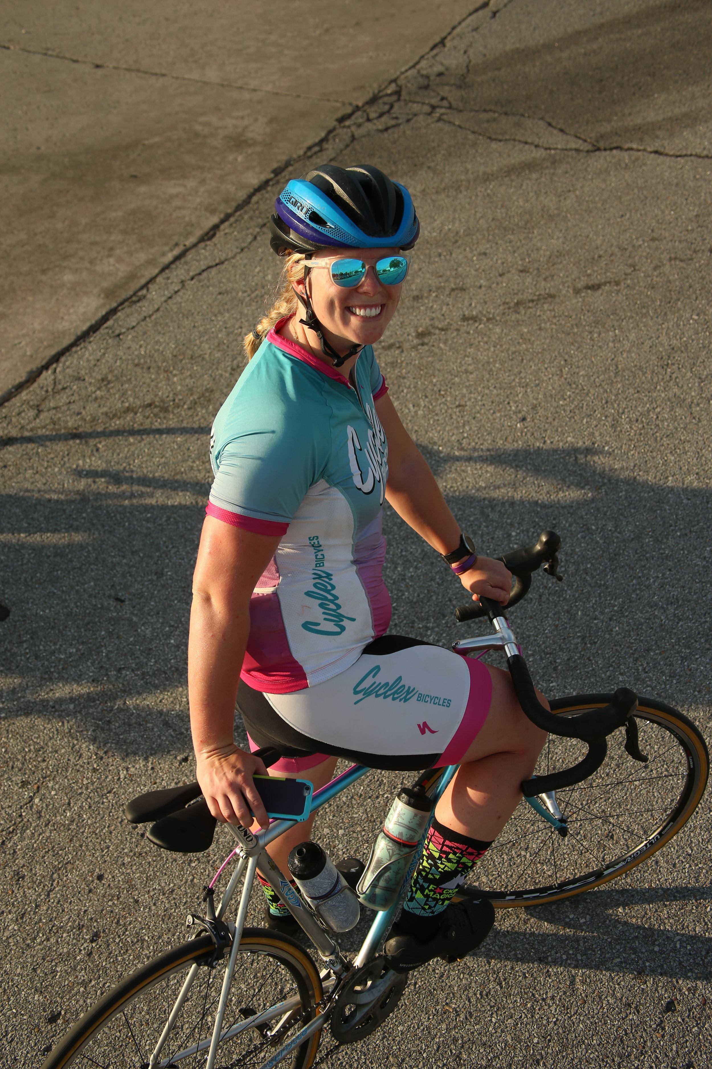 Angela Peterson - Position: Sales Manager and Certified Fit TechnicianHome Town: Detroit Lakes, MNDream Bike: S-Works Turbo ComoFavorite Type of Ride: Gravel