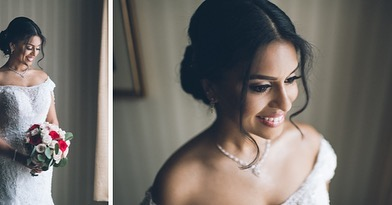A couple weeks ago we had the pleasure to work with this charming couple — from the wedding ceremony to the reception, the love between Michelle and Ajith was heartfelt #GettingMiched #michgetslajit • • From our team here at PEC we wish you both a lifetime of laughter, love and happiness ✨❤️🌹 • • • PC: @pearlpaperstudio  Video: @livepicturestudios  Decor: @premiereventsbyreema  MUA: @cinderellabridez  DJ: @djusaweddings @djjuicy  Cake: @palermosbakery