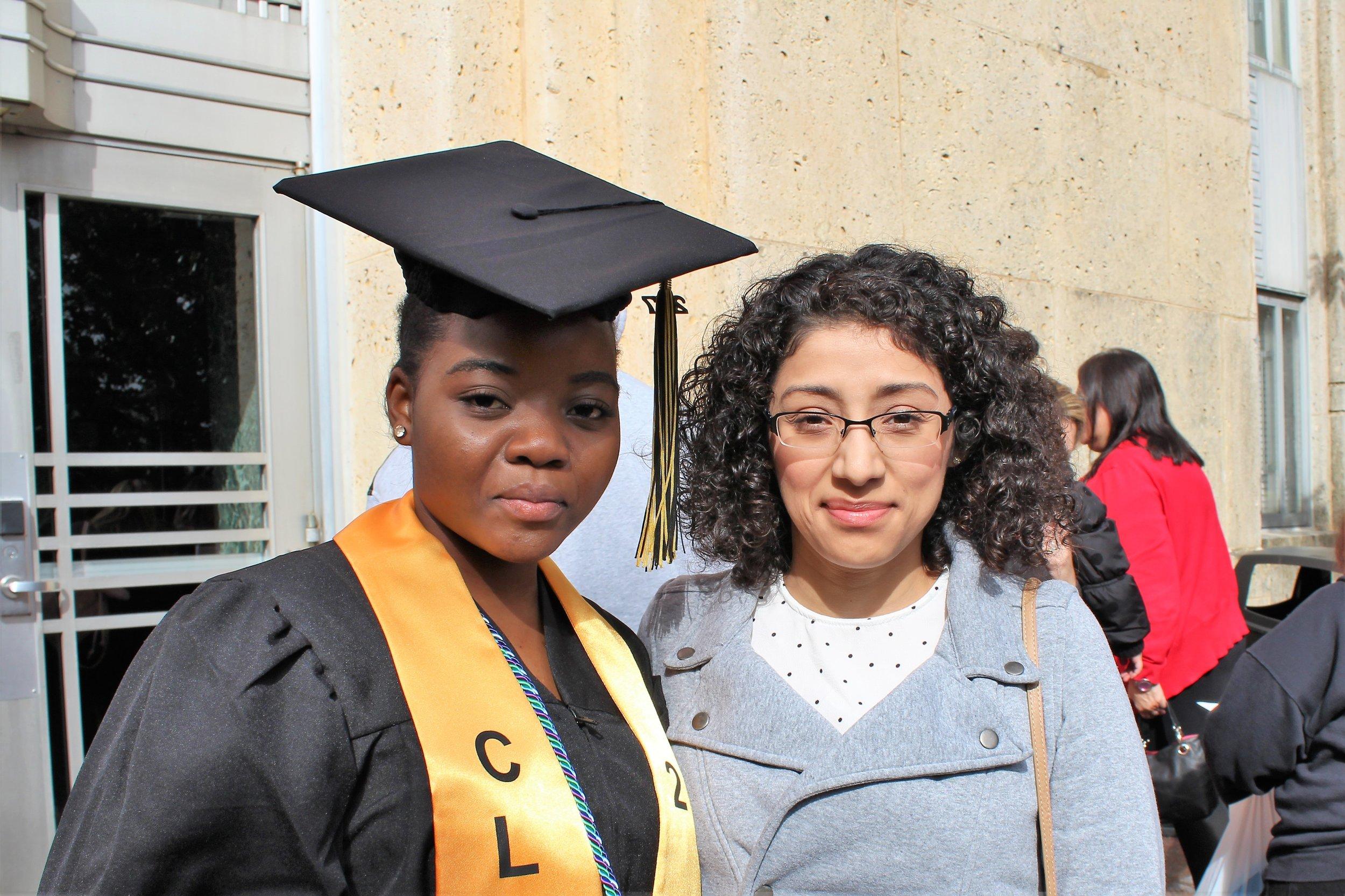 Gloire and mentor (Carol).JPG