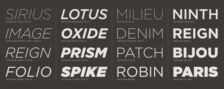 Image credit:  typography.com