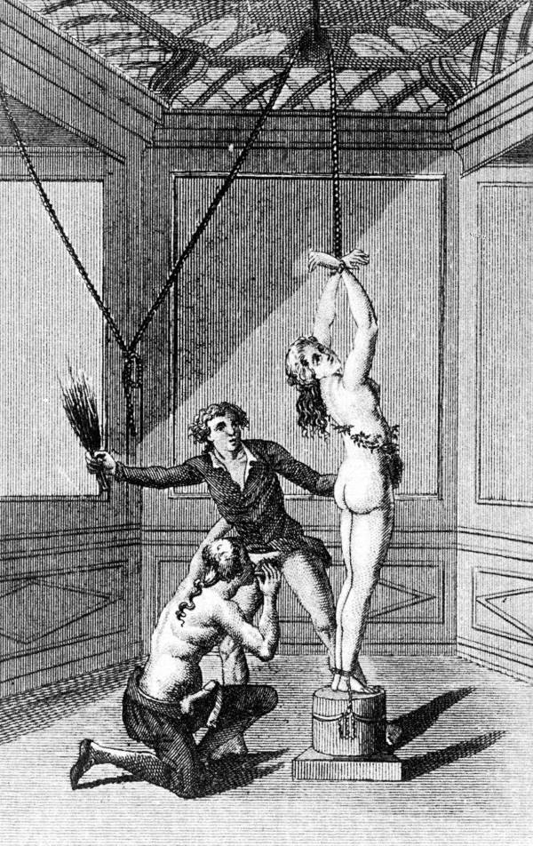 """Marquis de Sade's known as the """"Father"""" of sadism, as the novels he wrote contained many sadistic acts."""