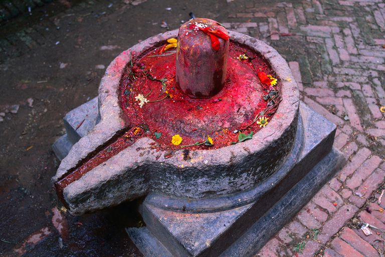 The  Shiva Linga  is a major symbol within the Tantric practice, where it involves both the Yoni/Flower and the Lingam/Stem in its structure.