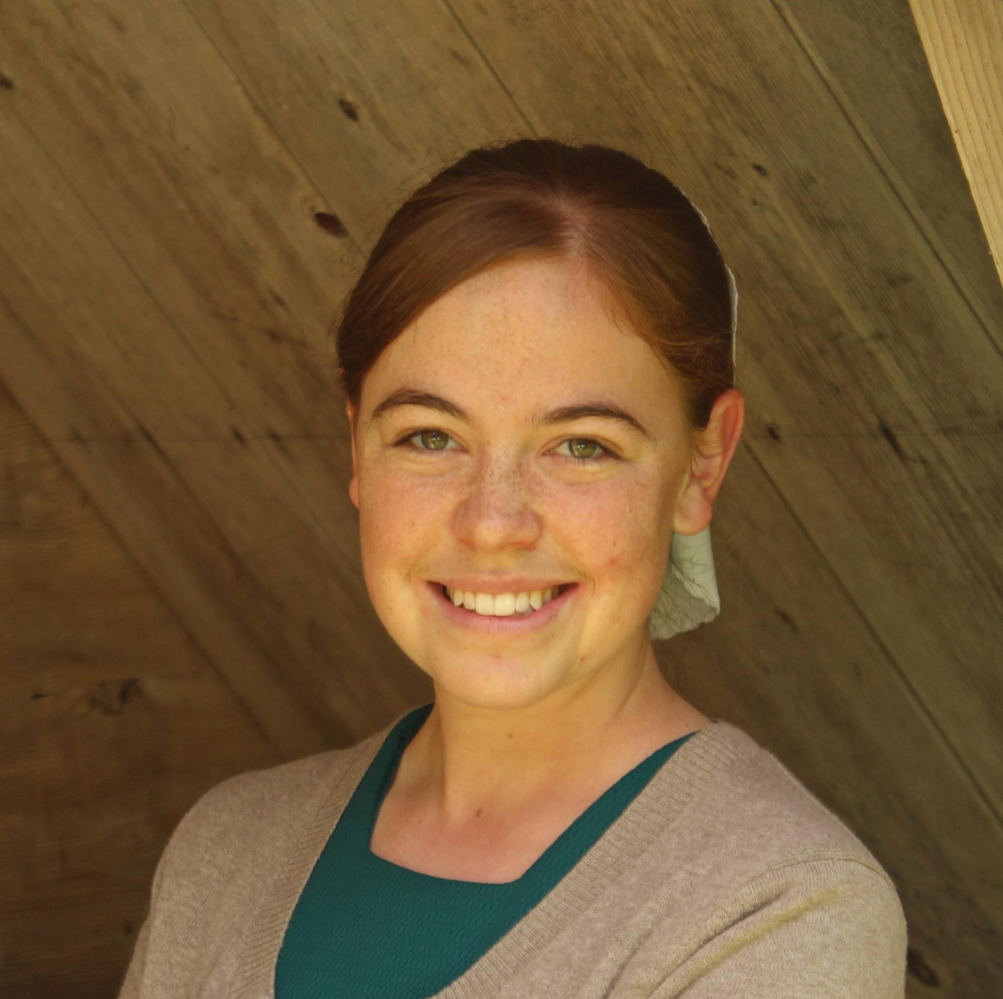 Krista Mullet, proofreader