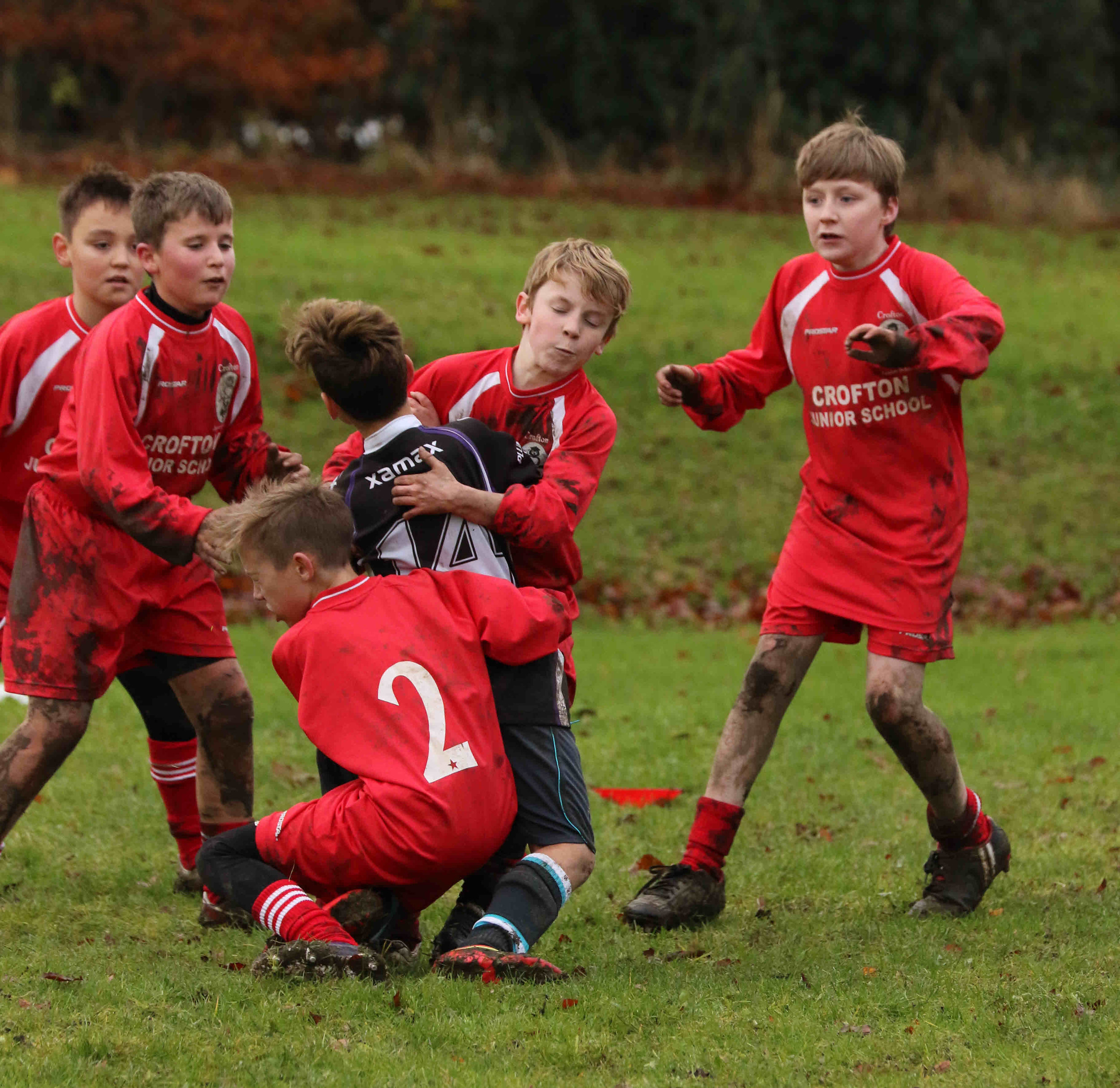 Full Contact Rugby @ walton Academy   Played at Walton Academy with teams from Walton, Crofton Juniors, South Kirby and the overall winners Sharlston.  For more great photos from this event click on the link  Full Contact Rugby