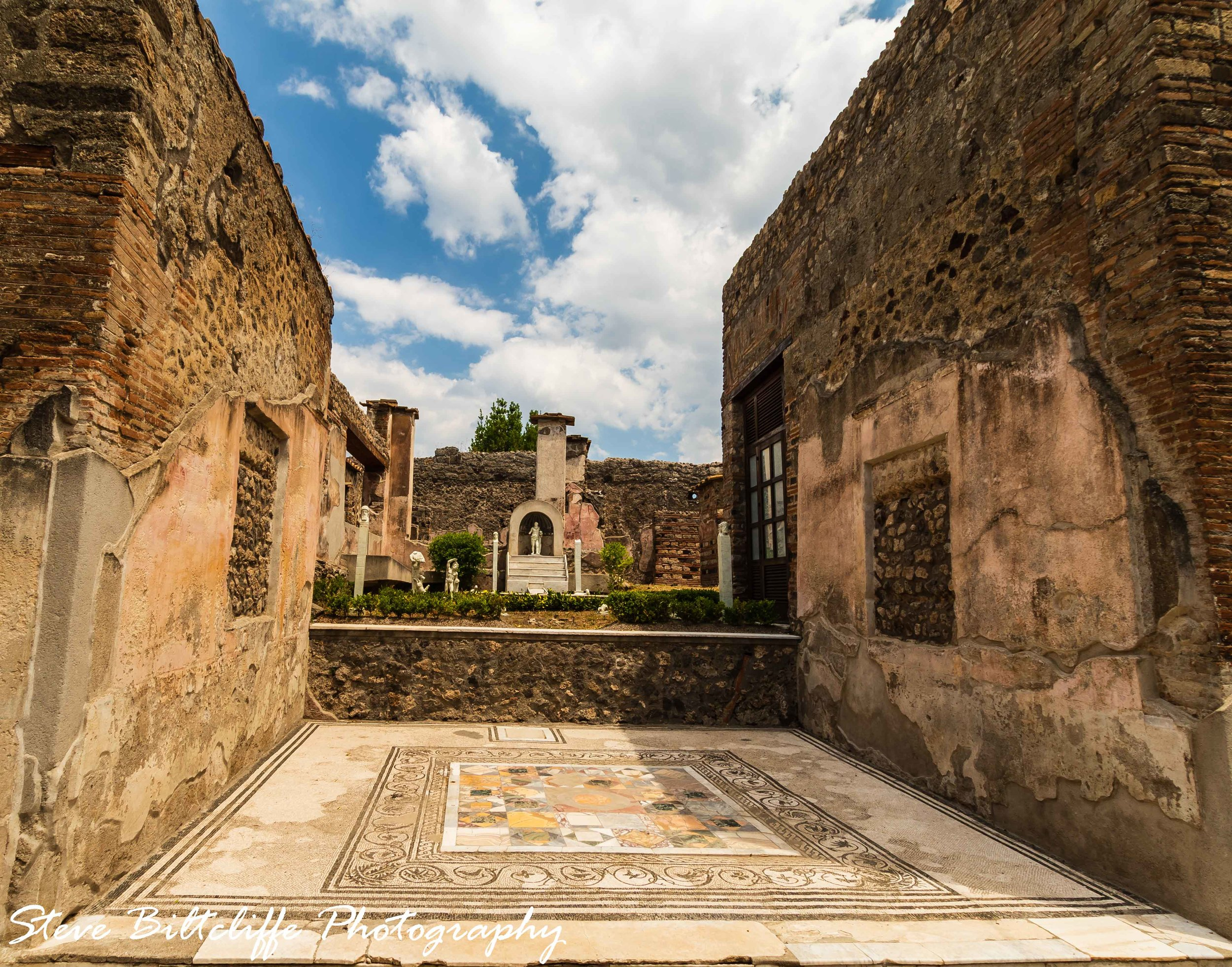 Pompeii - A medium size villa
