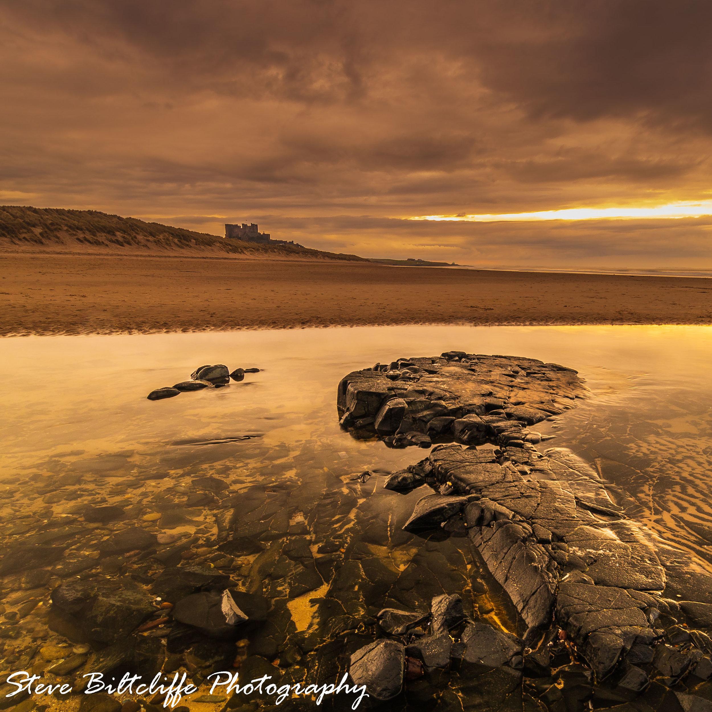 Bamburgh - Sunset