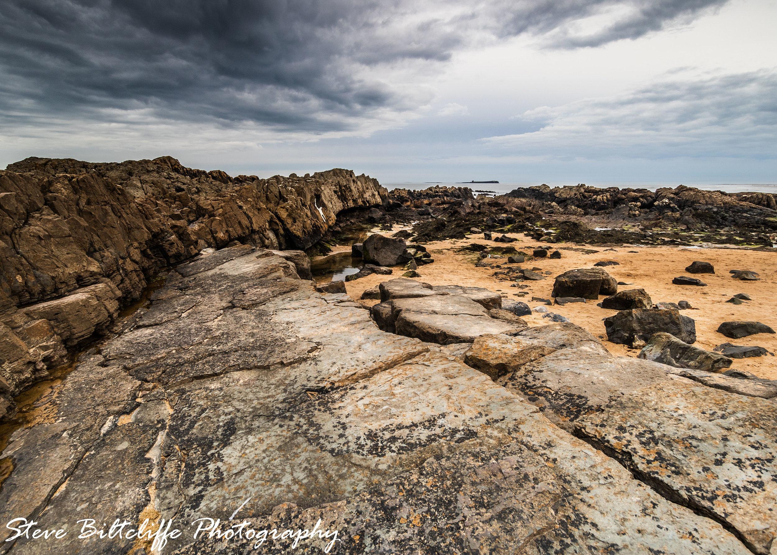 Bamburgh - Seascape
