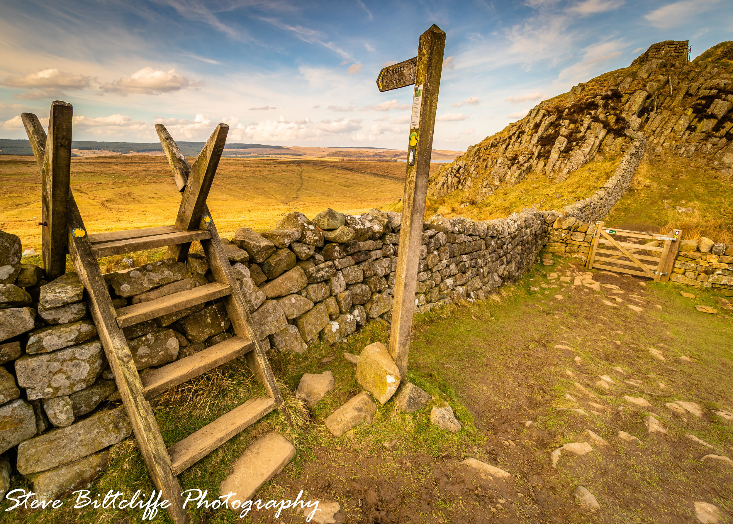 Hadrian's Wall - The view home