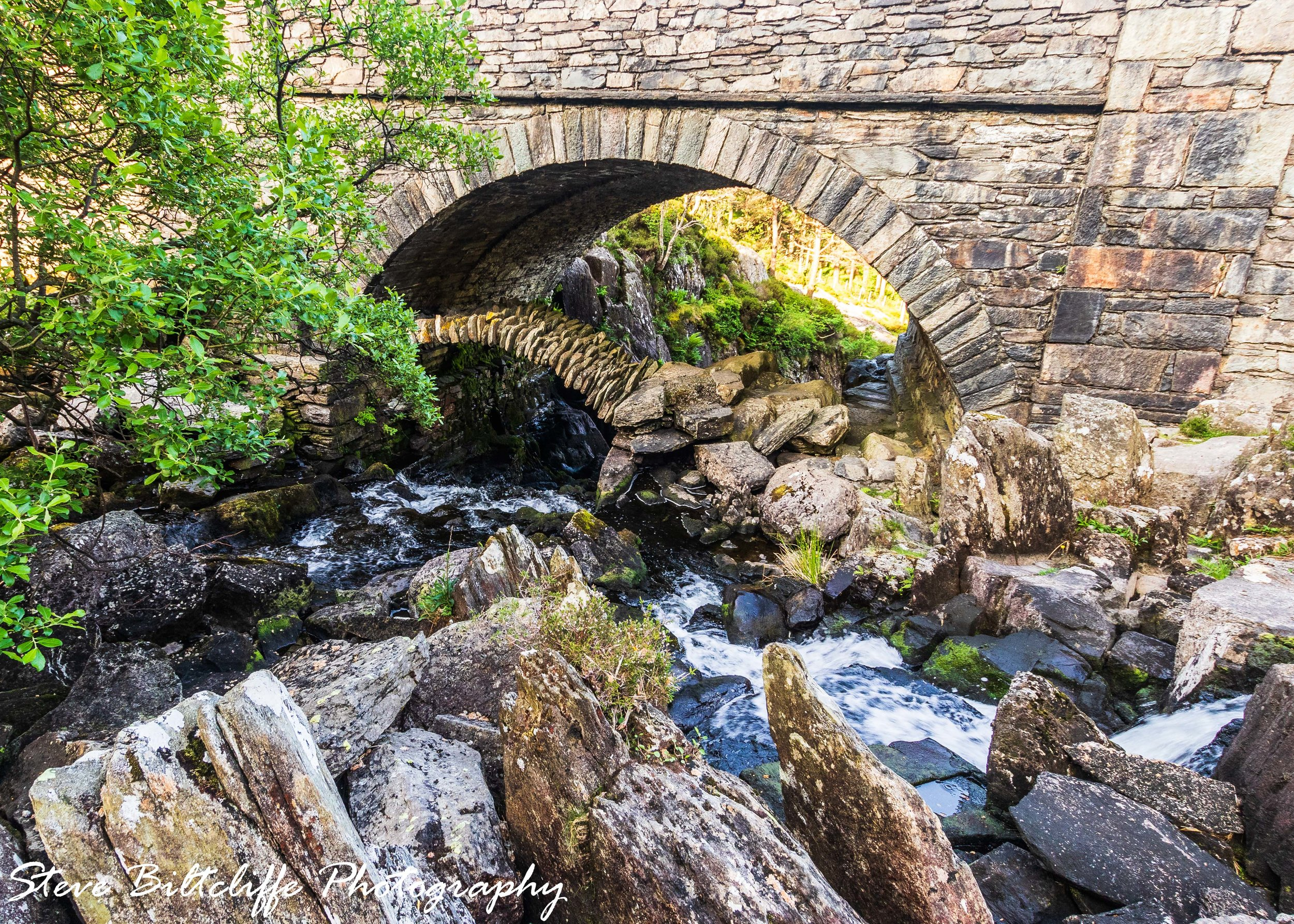 Ogwen Falls - The Packhorse Bridge