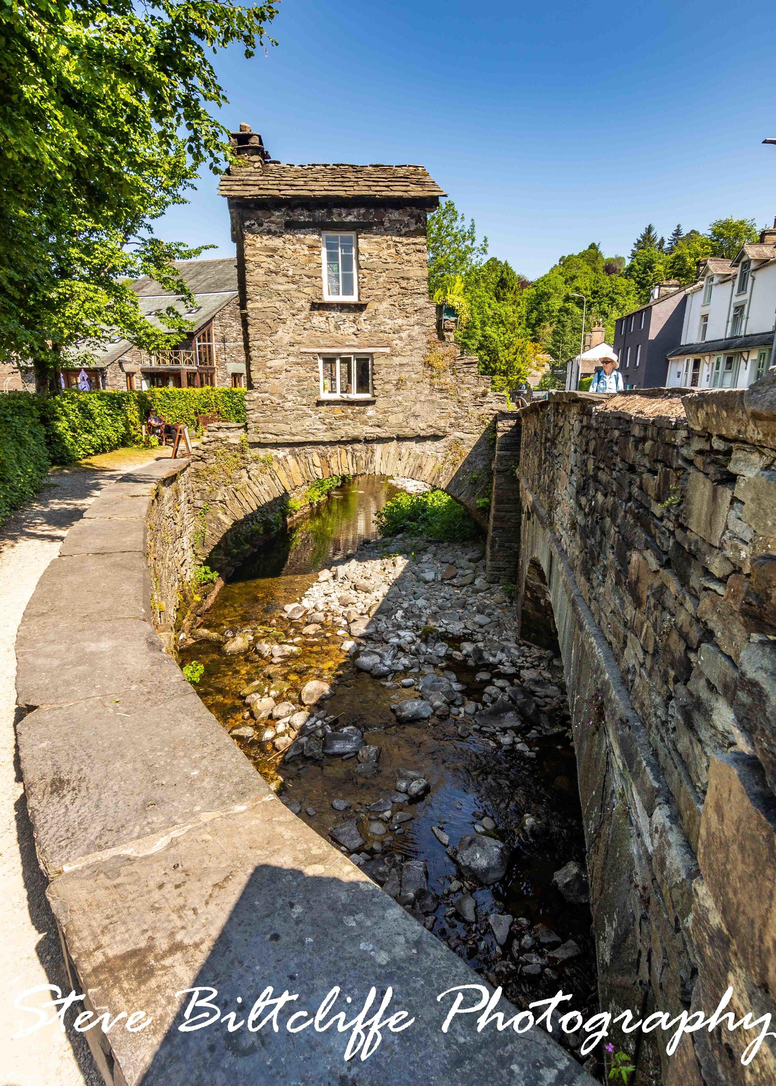House on the bridge - Ambleside