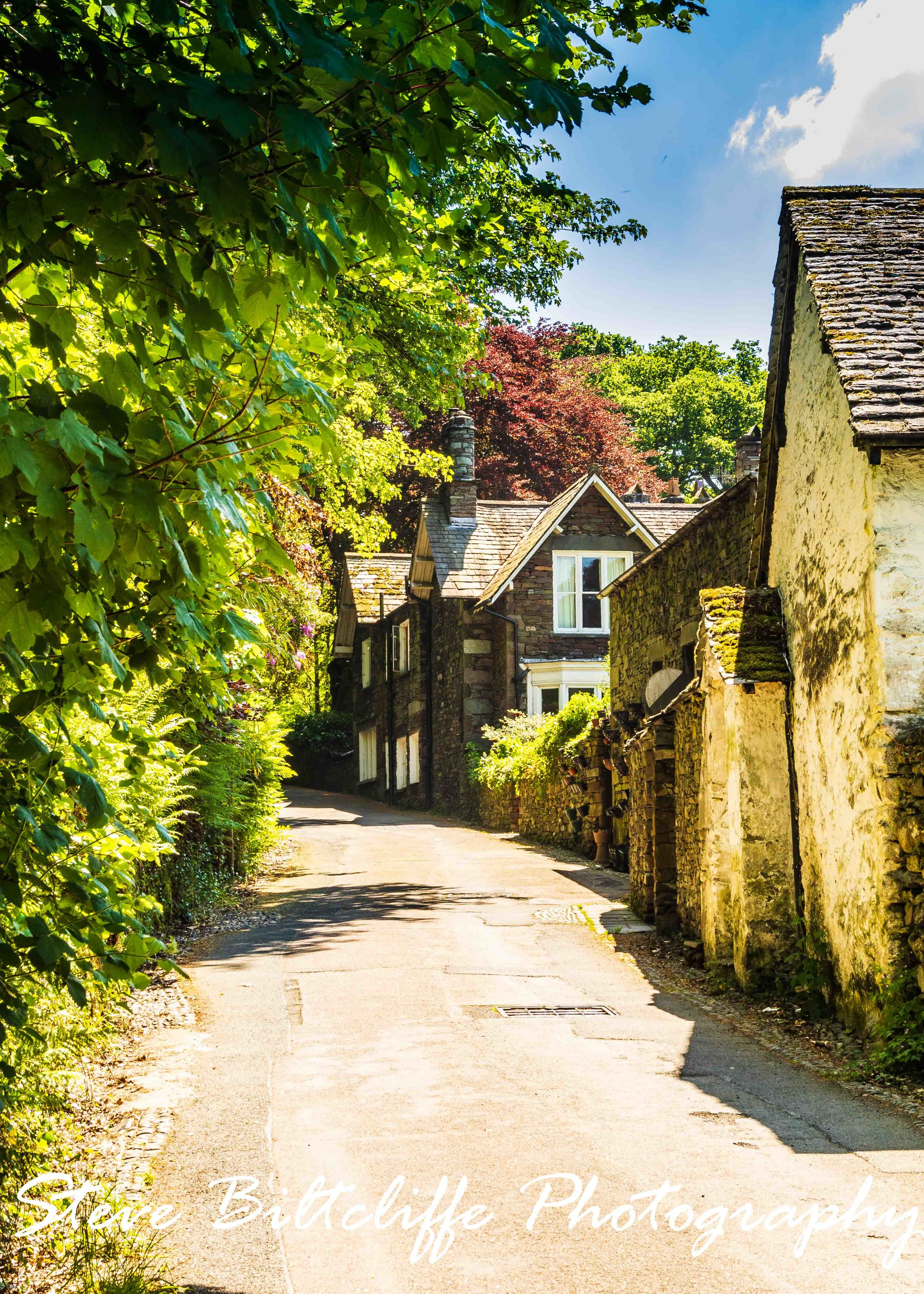 Grasmere - A View up the Lane