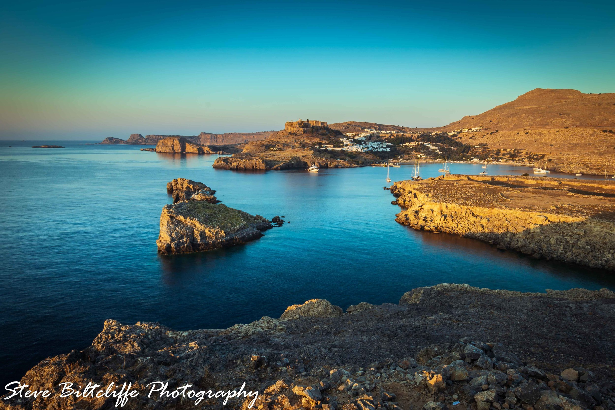 Early Morning over looking Lindos