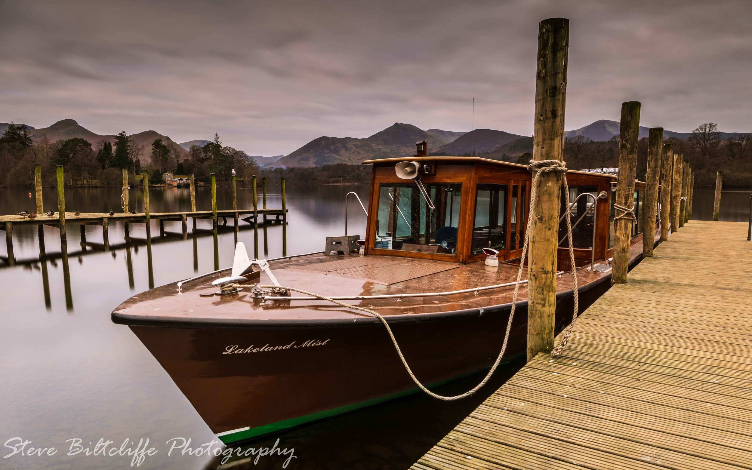 On the quayside at Keswick