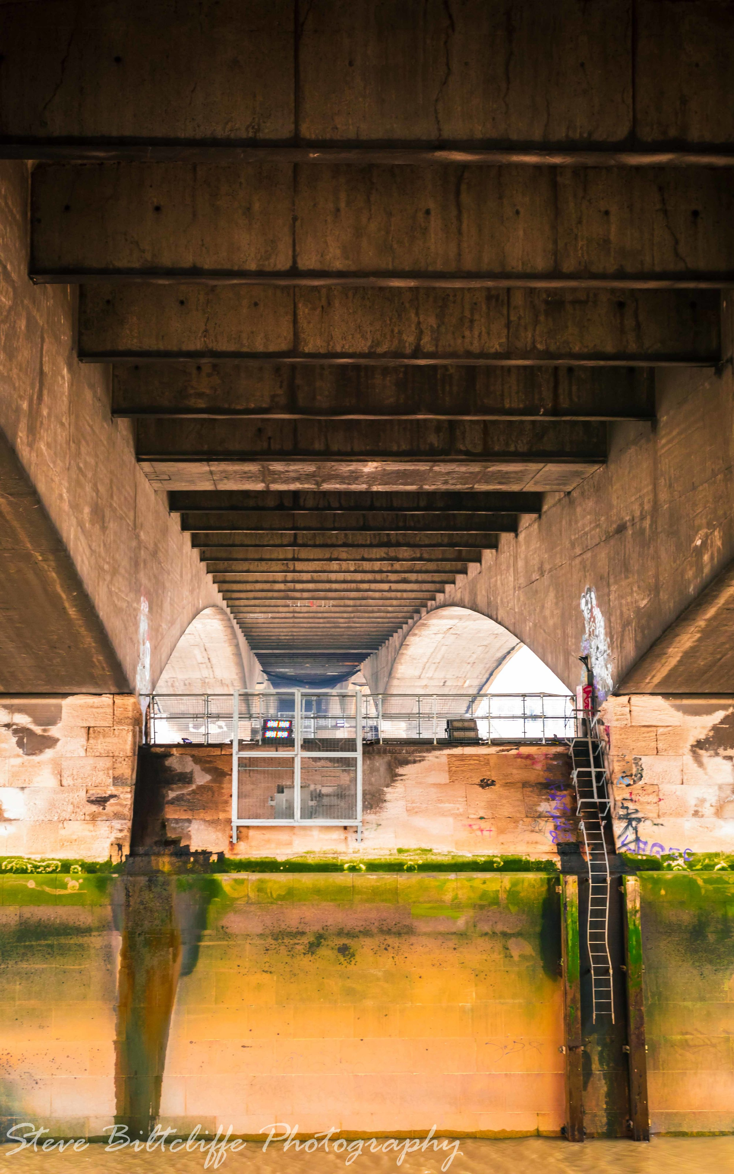 Under Blackfriars Bridge