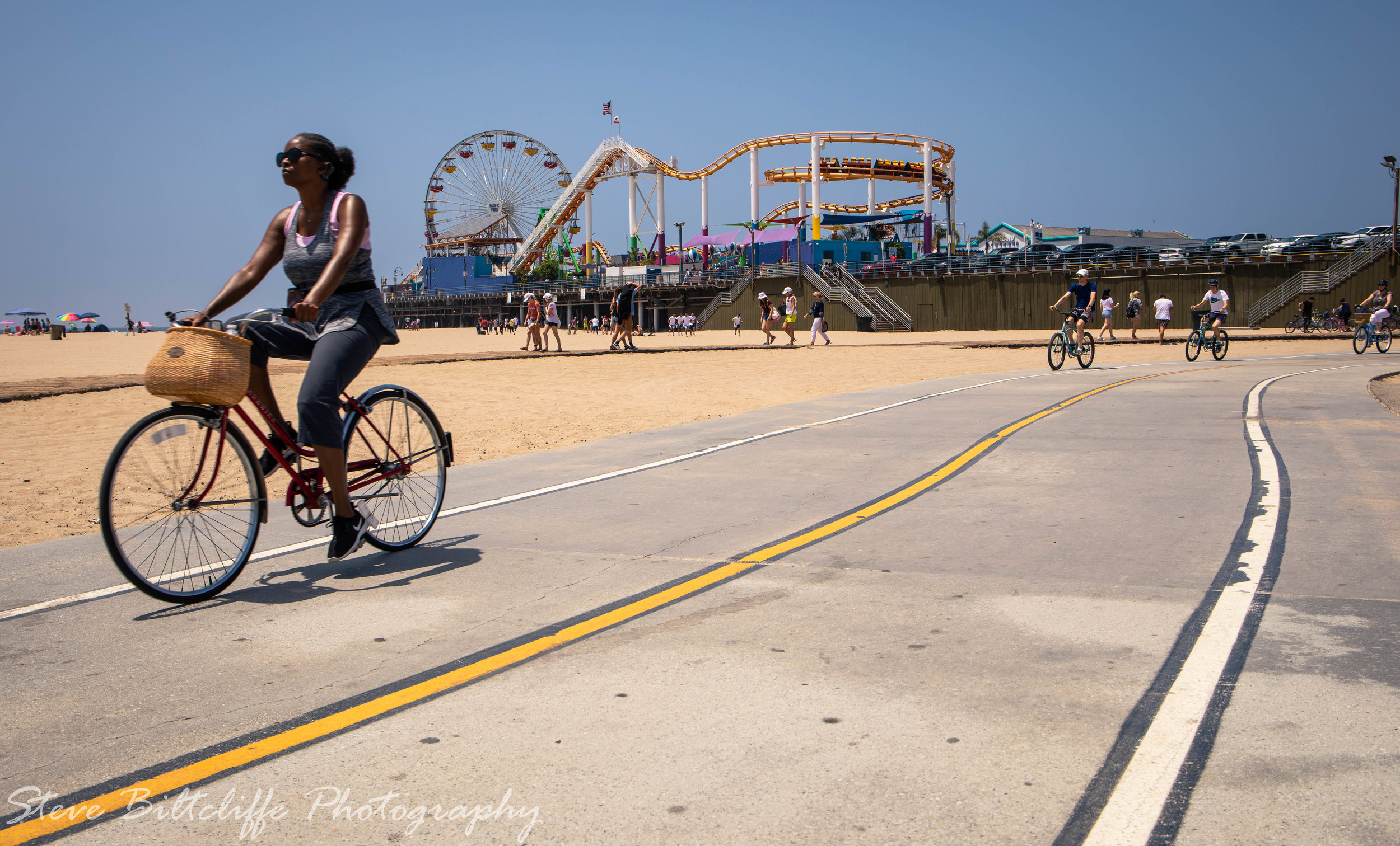 Santa Monica Pier and the best way to travel.