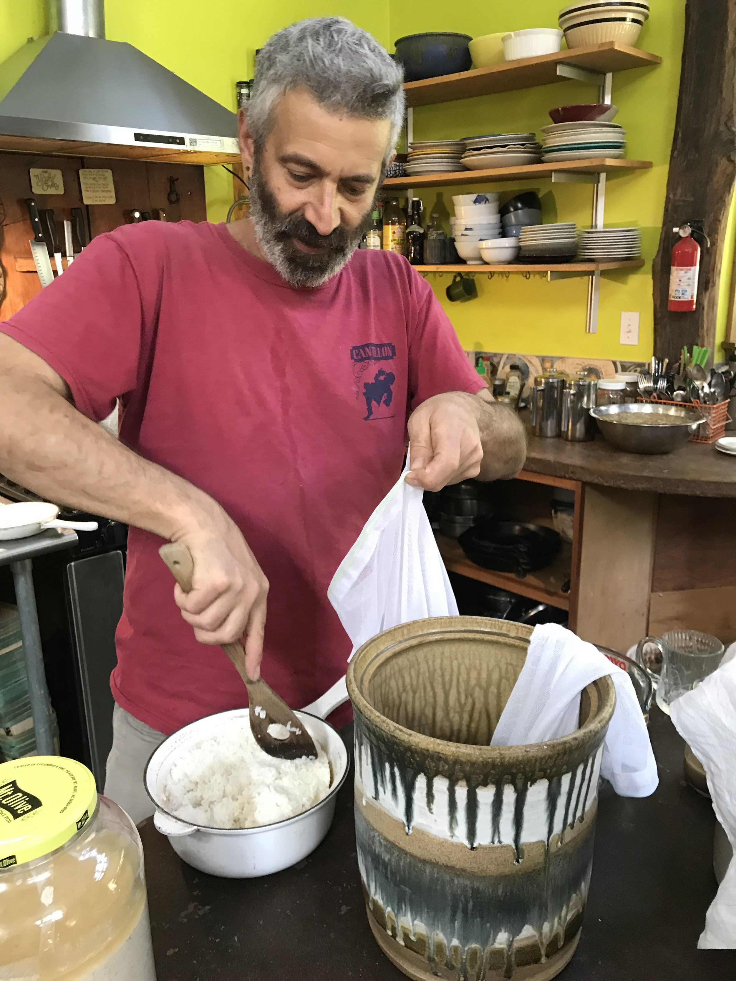 "The ""tea bag"" method"