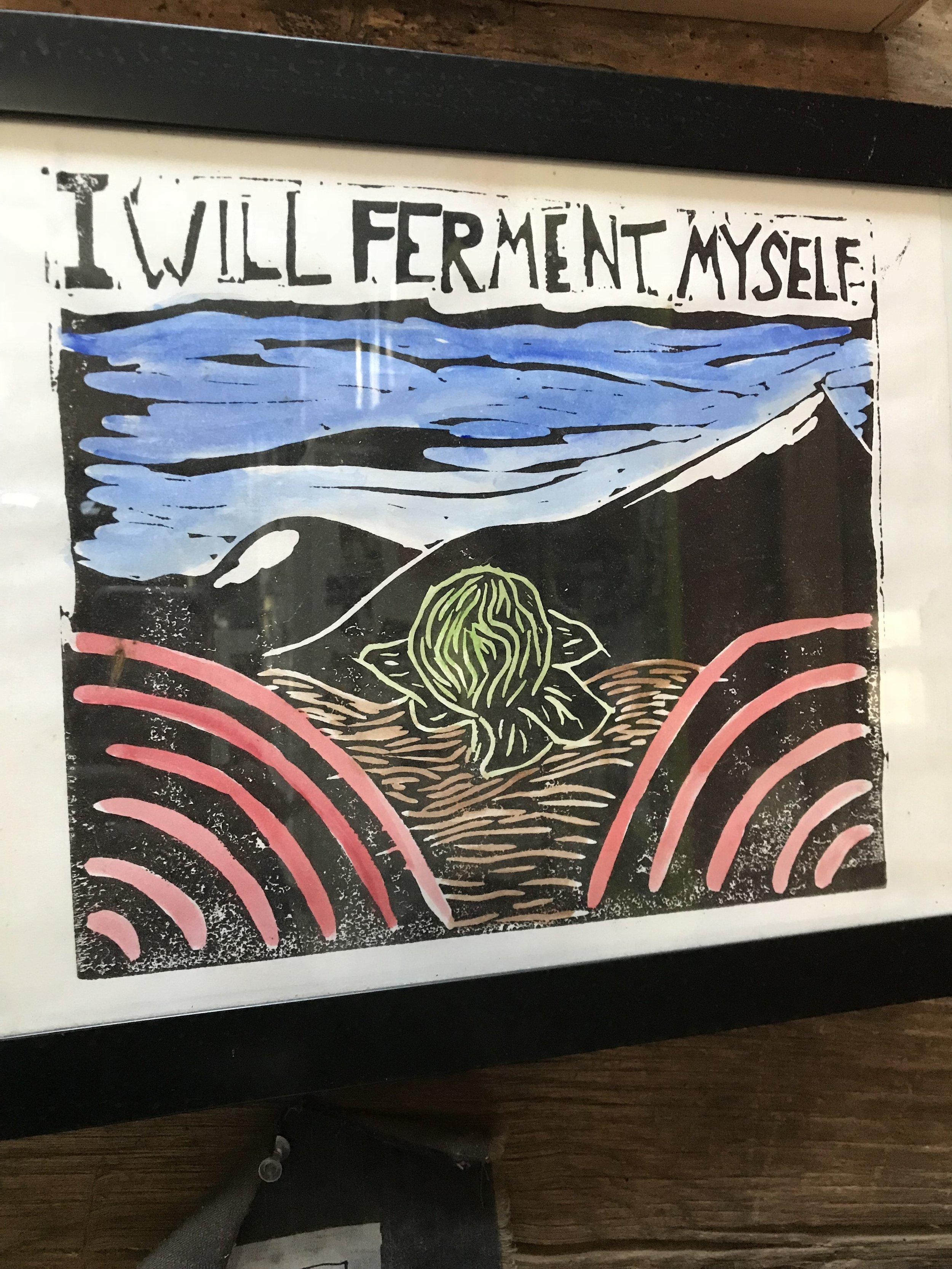 Sandor's ferment-related art