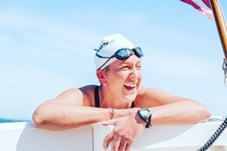 Not many people who are told they may never walk unassisted again go on to become an open water marathon swimmer but Kim Chambers did. Hear her incredible story here: https://podcasts.apple.com/us/podcast/the-other-f-word-conversations-about-failure/id1168205486. #failure #podcast #swimming #resilience #fear #pushingboundaries