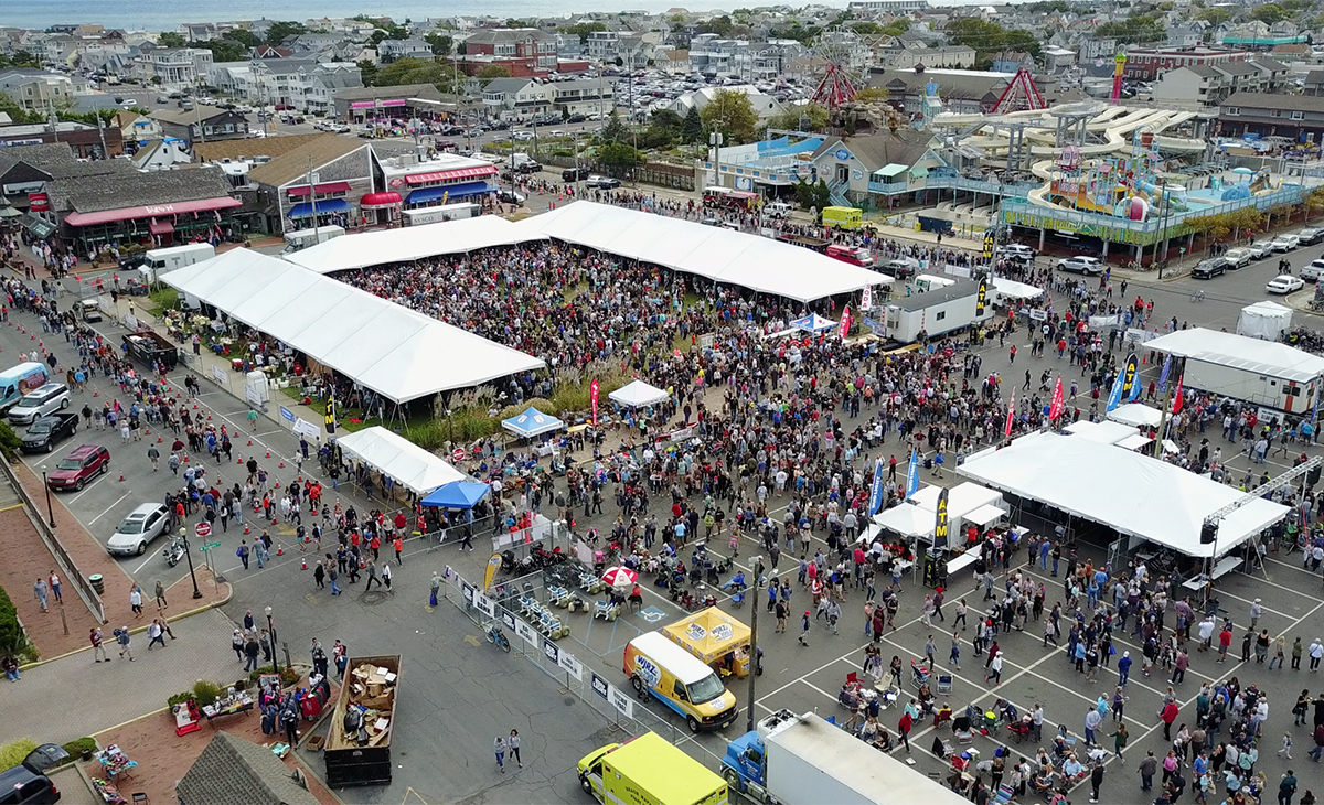 Chowderfest set attendance records last year and 3,000 gallons of chowder were served.