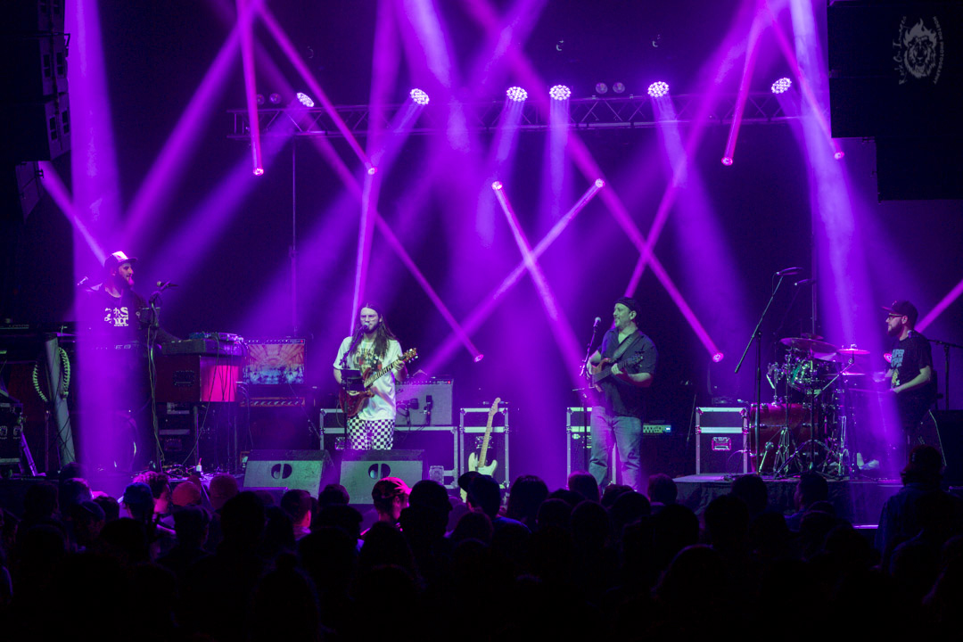 Pink Talking Fish, the Pink Floyd/Talking Heads/Phish tribute band play Bird & Betty's on August 16. Photo Horton.
