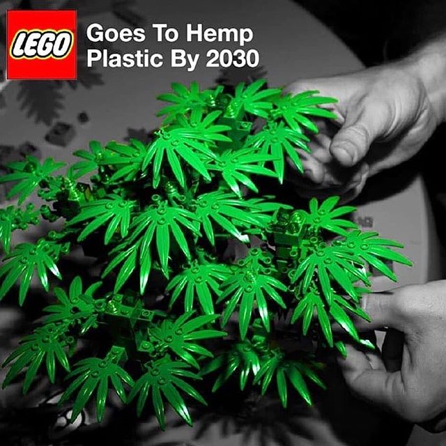 Reposted from @hempdesignguy -  The revolution will be televised. LEGO is to be made from hemp plastic by 2030 🌿 . Is this a turning point in the hemp industry? . The Lego Group is accepted as one of the top 100 brands in the world and is the largest company in the toy industry valued at over $14 BN (2012). It's amazing to see the largest brands in the world turning to hemp as an alternative material. LEGO will join the likes of Mercedes, BMW and Patagonia as big players in their respective industries using hemp in their products. . . . . . . . #hemp #hempdesign #hempproducts #hempfashion #hempclothing - #regrann