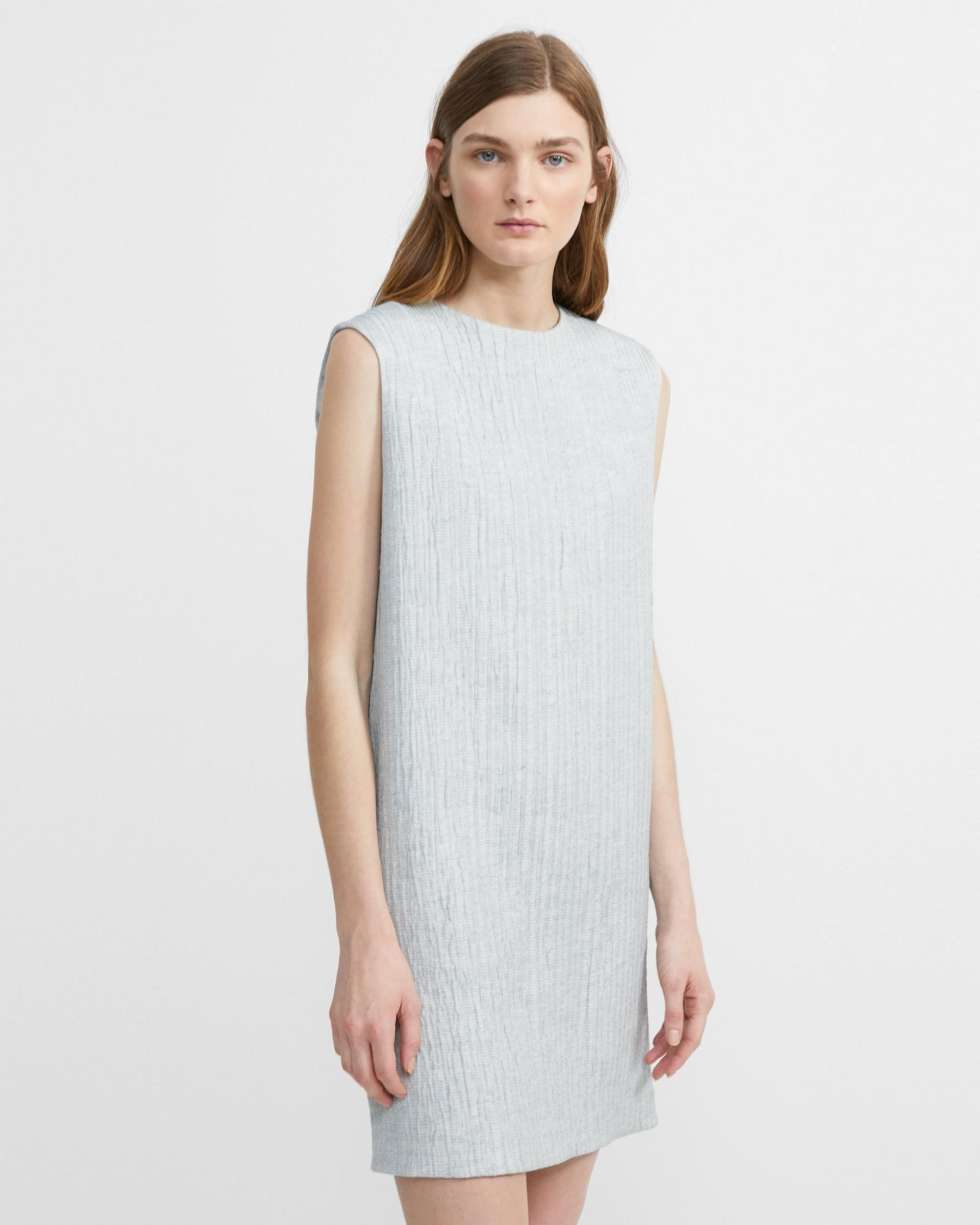 Theory Linen Blend Column Dress