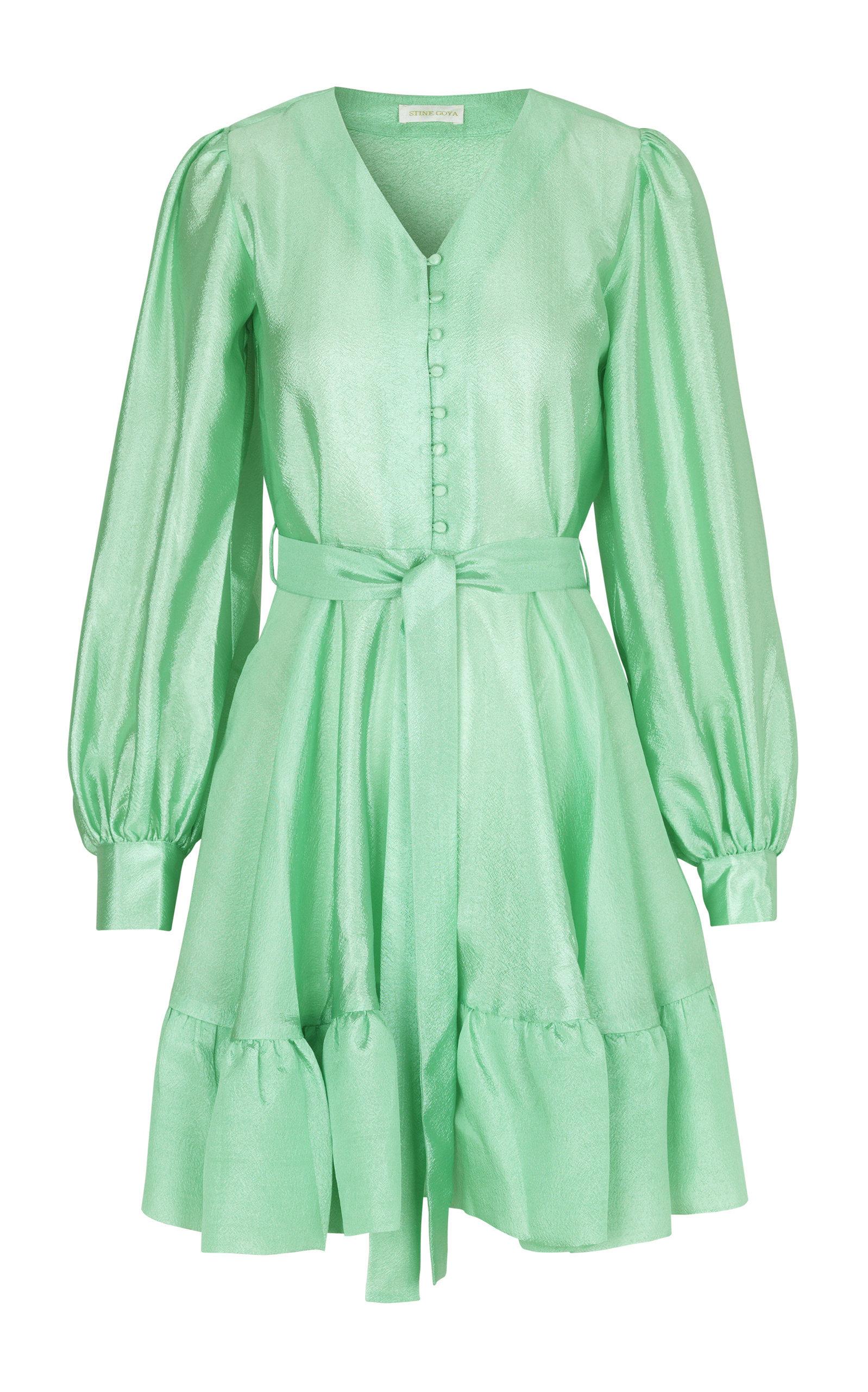 Farrow Satin Mini Dress