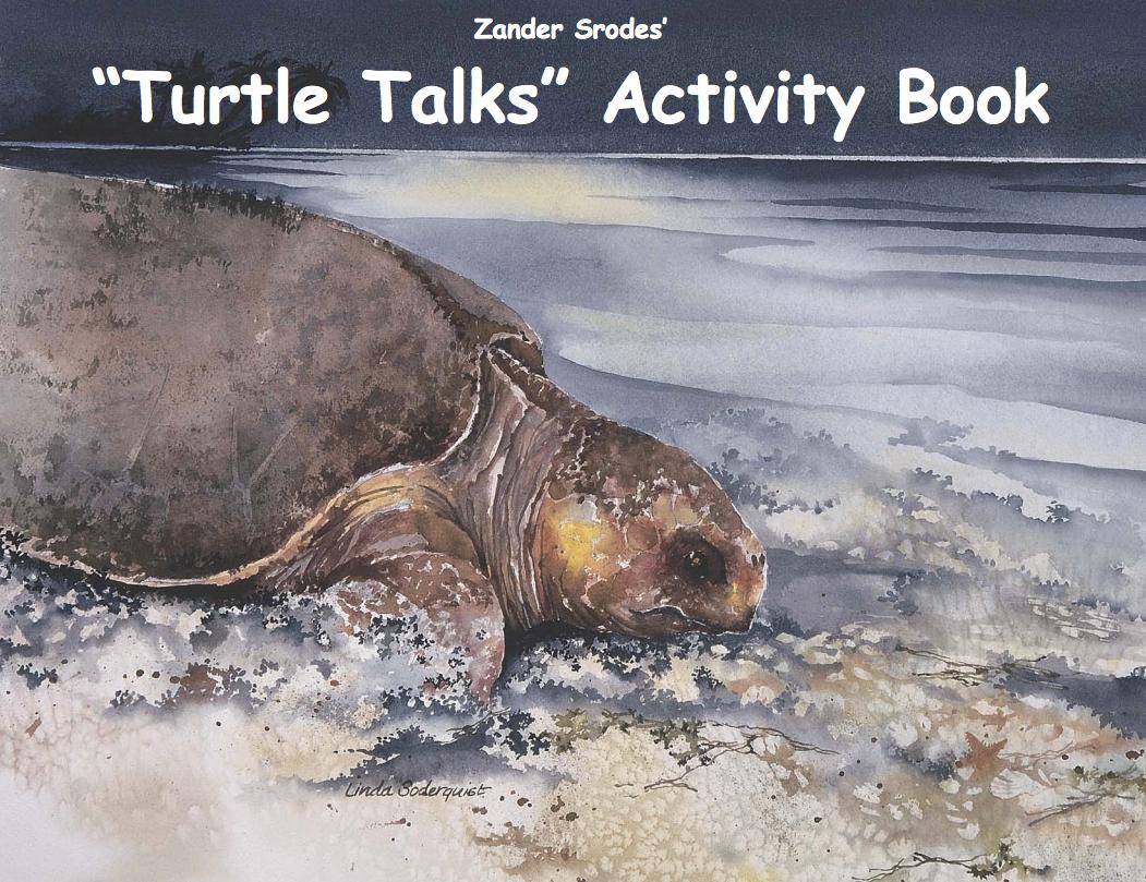 Turtle Talks Kids Activity Book