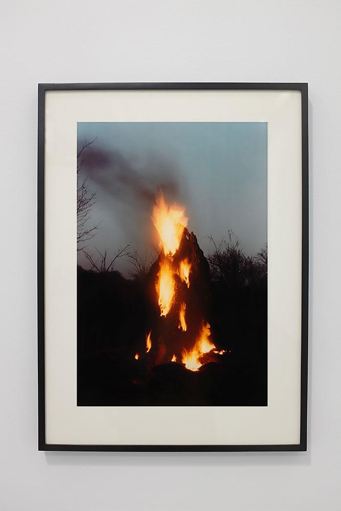 """Ana Mendieta ,  Untitled: Silueta Series, Iowa , 1978, Digital print, 26"""" x 19"""""""