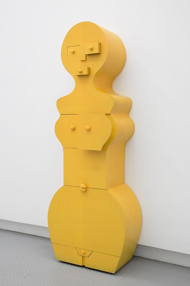 "Nicola L ,  La Femme Commode , 1994/2013, Wood, 64"" x 84"" x 12"", Courtesy Estate of Nicola L / Elga Wimmer Gallery"