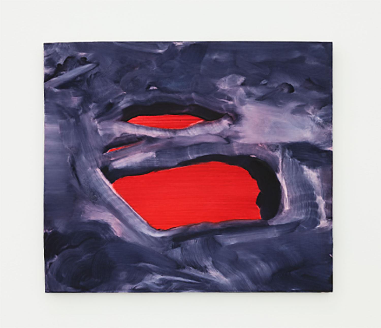 "Gills , 2018, Oil on panel, 9 ½"" x 11"""