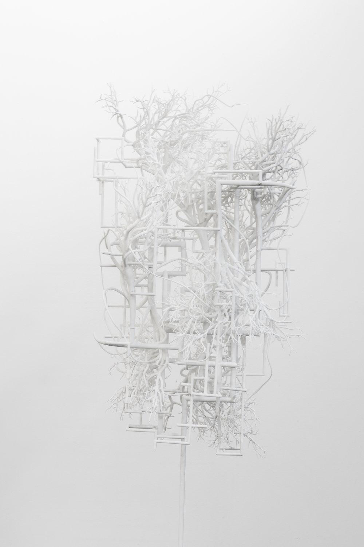 Synapses 05 , 2017, Laser sintering 3D print, 183 x 61 x 69 cm