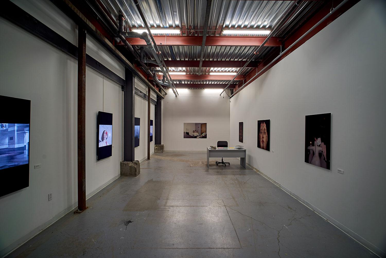 Installation view, artworks by Amalia Ulman