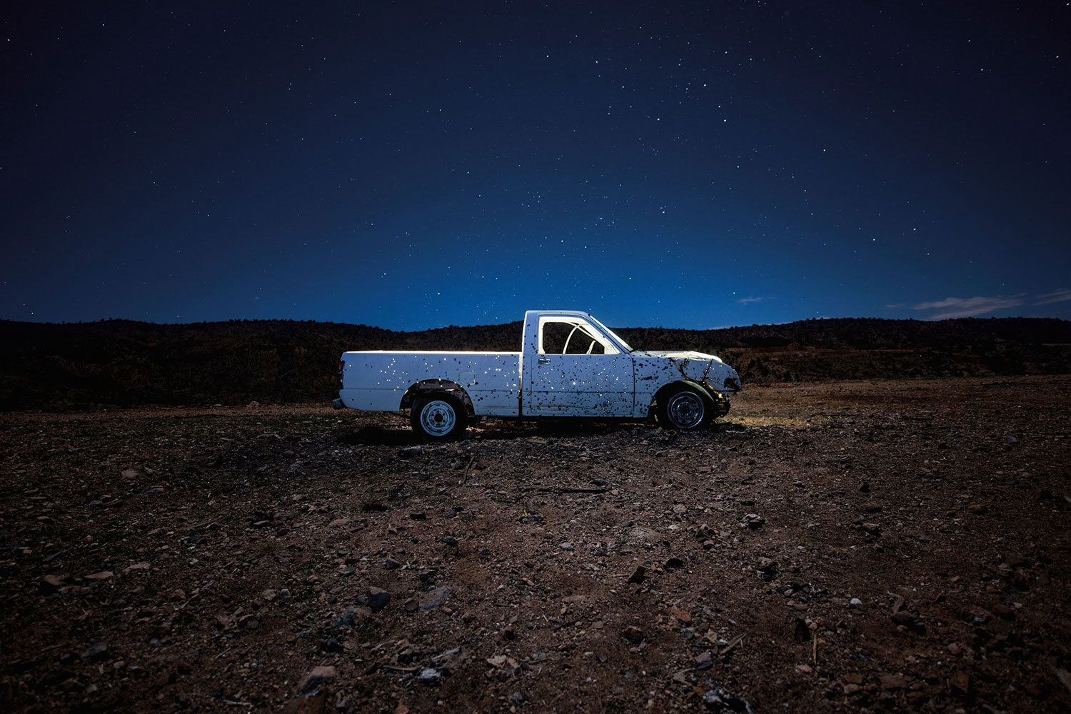"Pick-up #1, 2019, Edition of 3, Chromogenic print, 42"" x 84"""
